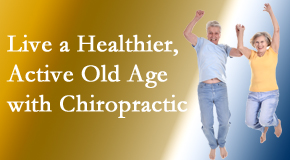 Moses Chiropractic welcomes older patients to incorporate chiropractic into their healthcare plan for pain relief and life's fun.