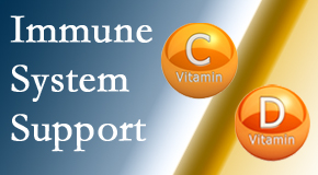 Moses Chiropractic presents details about the benefits of vitamins C and D for the immune system to fight infection.
